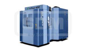 Горизонтальный обрабатывающий центр, станок с ЧПУ, обрабатывающий центр, фрезерование, сменщик паллет