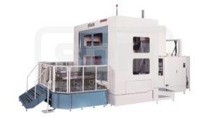 Горизонтальный обрабатывающий центр, станок с ЧПУ, обрабатывающий центр, фрезерование